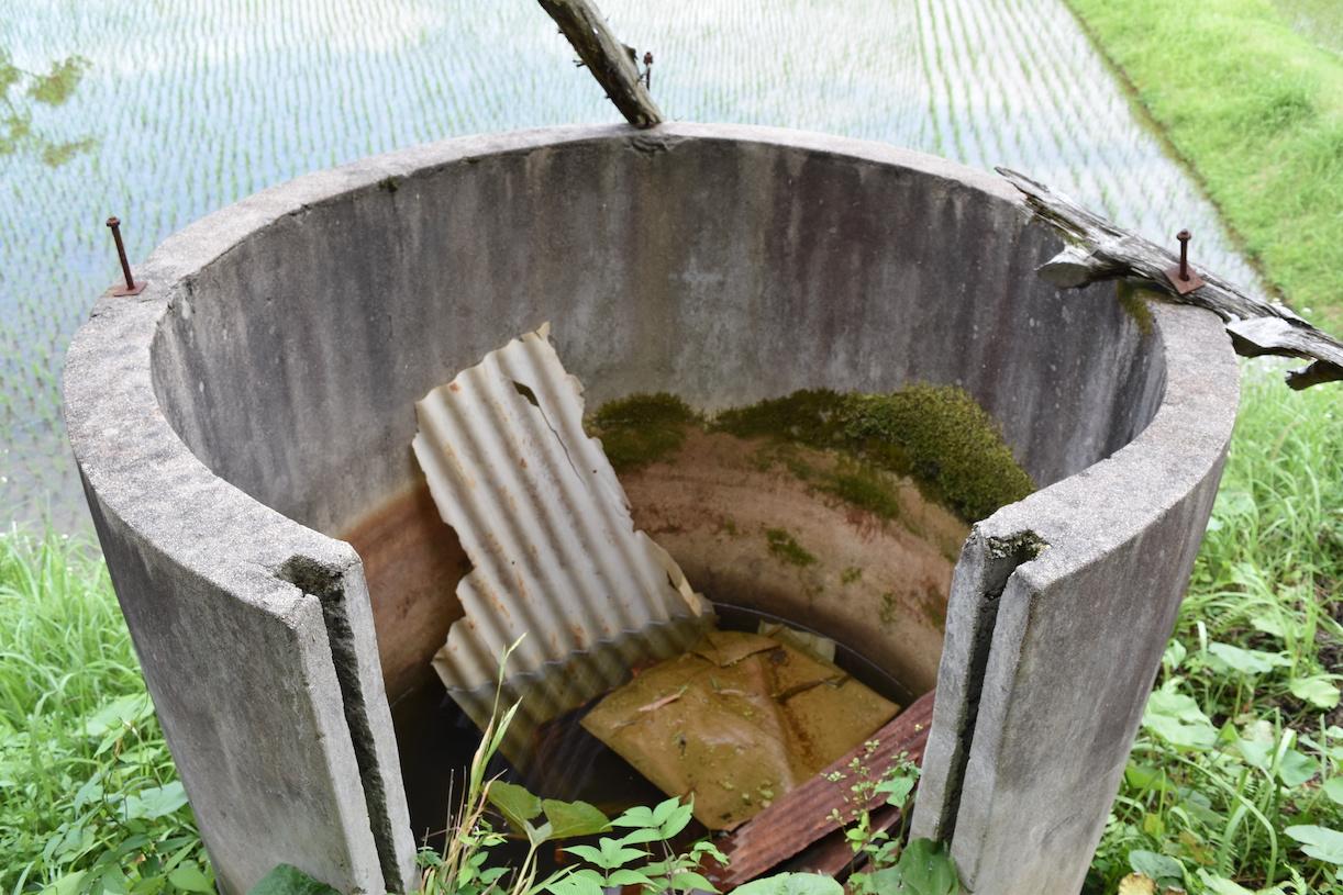 古井戸の再生